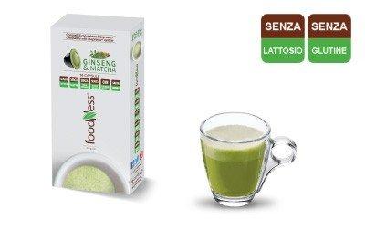 Capsule Foodness Ginseng E Matcha Per Nespresso Caffe On Demand
